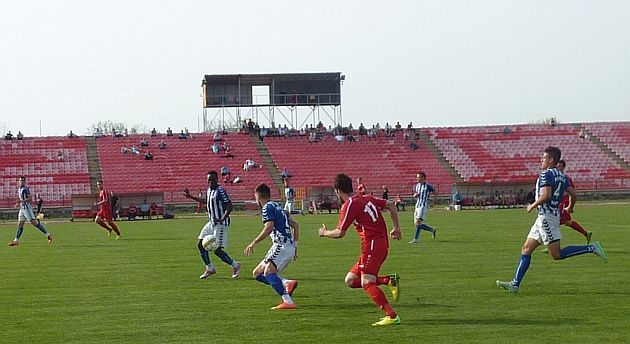 Sa danasnje utakmice na Cika Daci